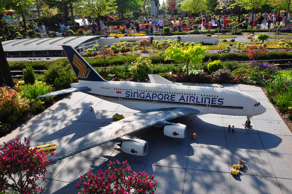 Letadlo Singapore airlines
