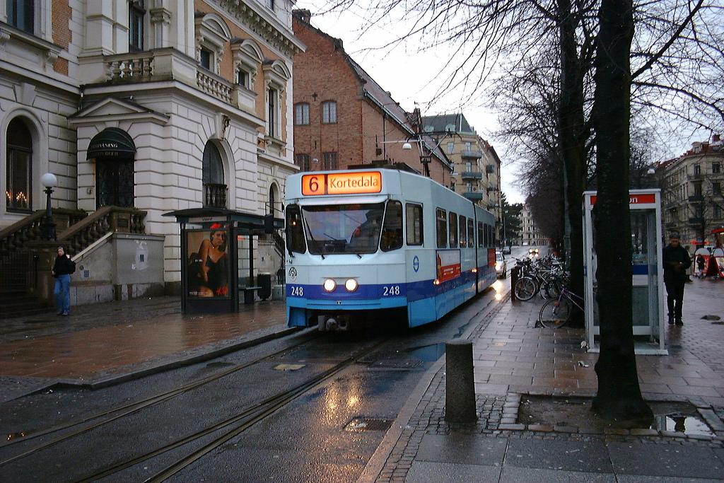 Tramvaj v Göteborgu