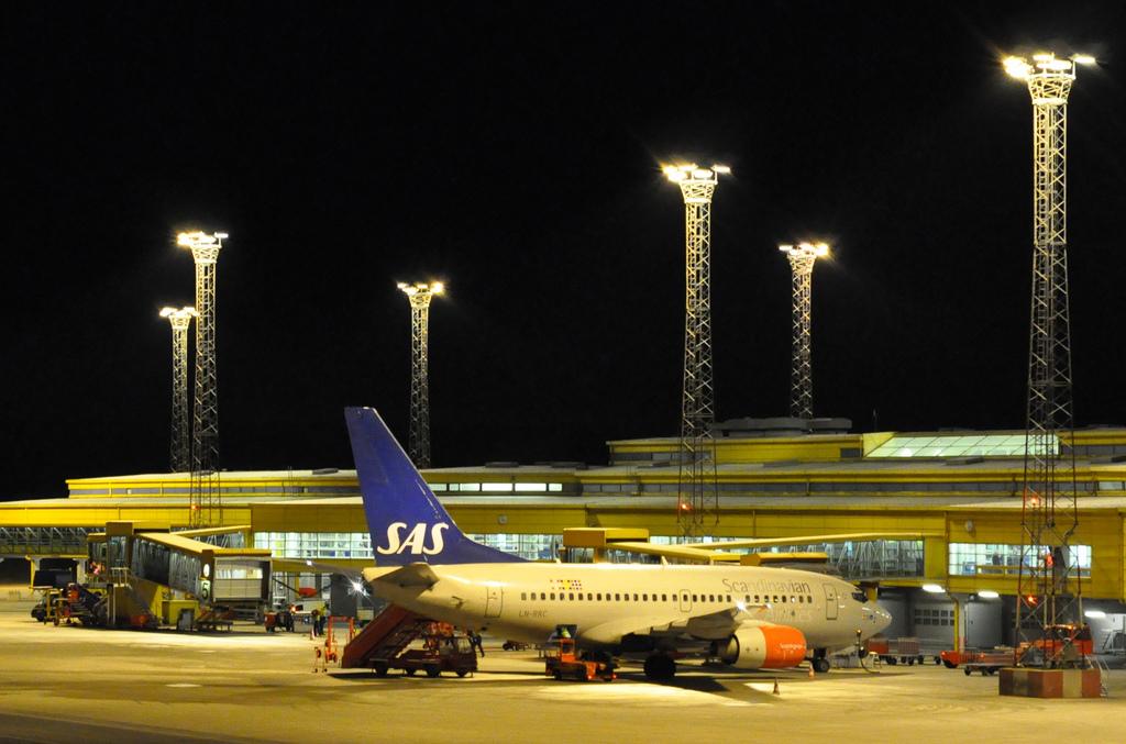 Letiště Malmö - Švédsko