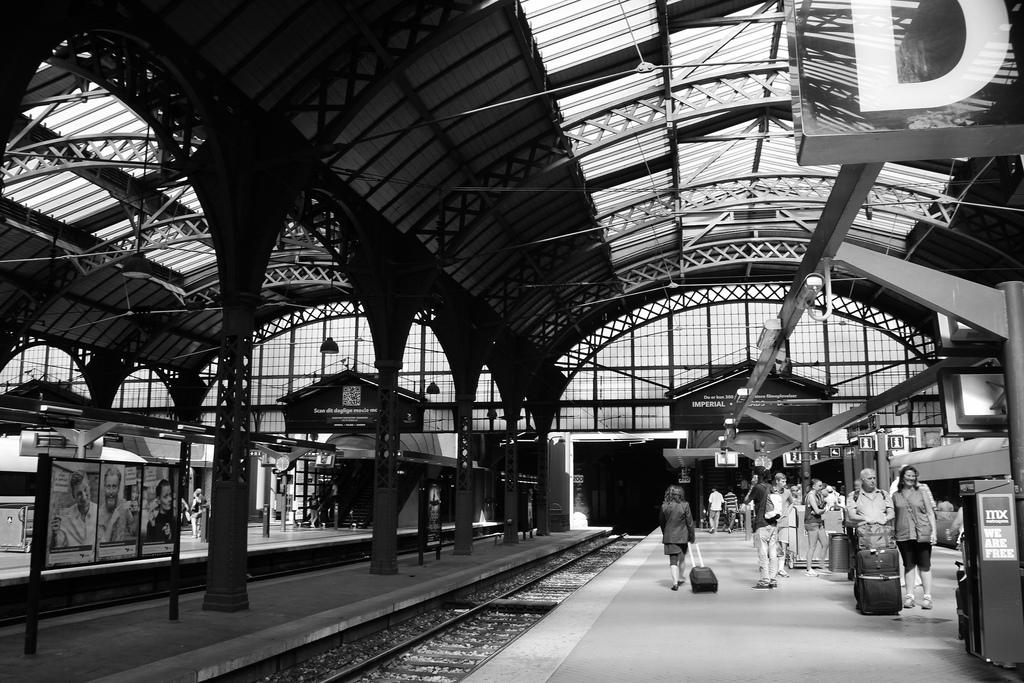 Hlavní vlakové nádraží v Kodani