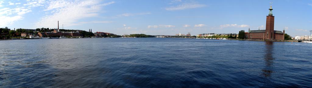 Stockholm hlavní město Švédska